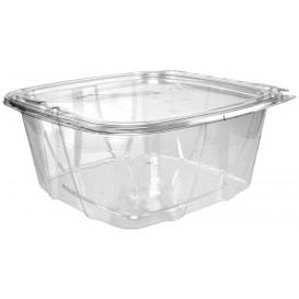Récipient Inviolable Plastique PET Couvercle Plat 1893ml (100 Utés)