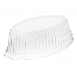 Couvercle Plastique PS pour Casserole 180x130x50mm (125 Unités)