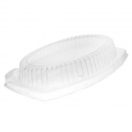 Couvercle Plastique Transp. pour Plateau 280x220mm (500 Utés)