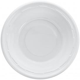 Bol en Plastique PS Blanc Blanc 360ml Ø15cm (125 Utés)