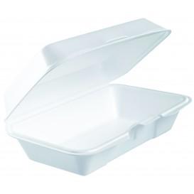 Boîte en FOAM LunchBox Blanc 225x140mm (125 Utes)
