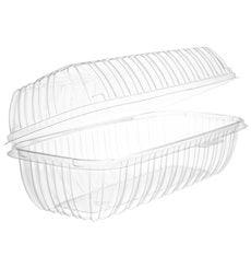 """Boîte Couvercle Charnière OPS """"Clear Seal"""" Pour Sandwich 292ml (100 Utés)"""