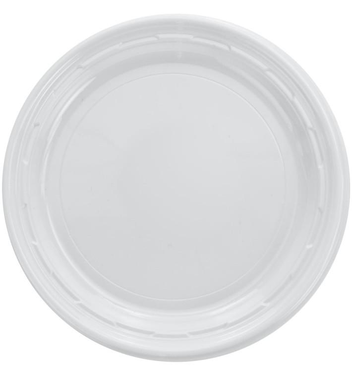 """Assiette en Plastique PS """"Famous Impact"""" Blanc Ø180mm (1000 unités)"""