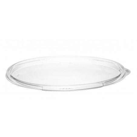 Couvercle Plat Plastique PET pour Bol Transp. Ø183mm (63 Utés)