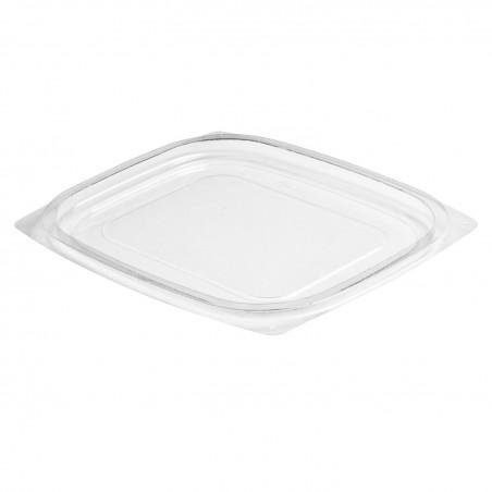 Couvercle Plastique PS Plat Transp. Récipient 237/355/473ml (63 Utés)