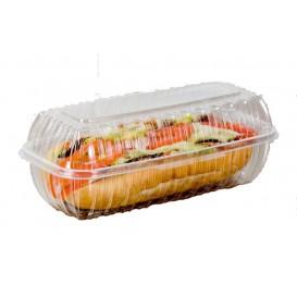 """Boîte Couvercle Charnière OPS """"Clear Seal"""" Pour Sandwich 290ml (200 Utés)"""