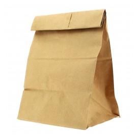 Sac en papier Kraft sans anses 22+12x30cm (1000 Utés)