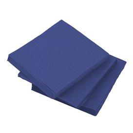 Serviette Cocktail Bleu 20x20cm (2400 Unités)