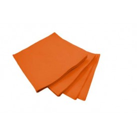 Serviette Cocktail Orange 20x20cm (100 Unités)