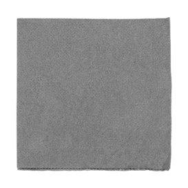 Serviette en Papier Micro Point 20x20cm Gris (2.400 Utés)