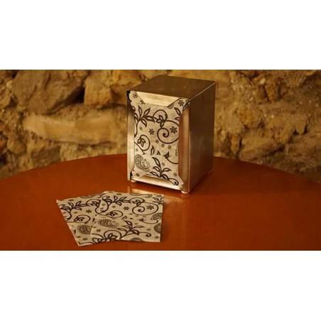 """Serviette en Papier SNACK """"Cachemire"""" 17x17cm (100 Unités)"""