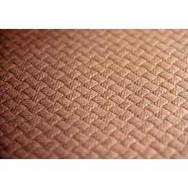 Nappe papier en ROULEAU Marron 1x100m 40g (6 Unités)