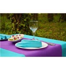 Nappe en PP Non-Tissé Turquoise 120x120cm (150 Utés)