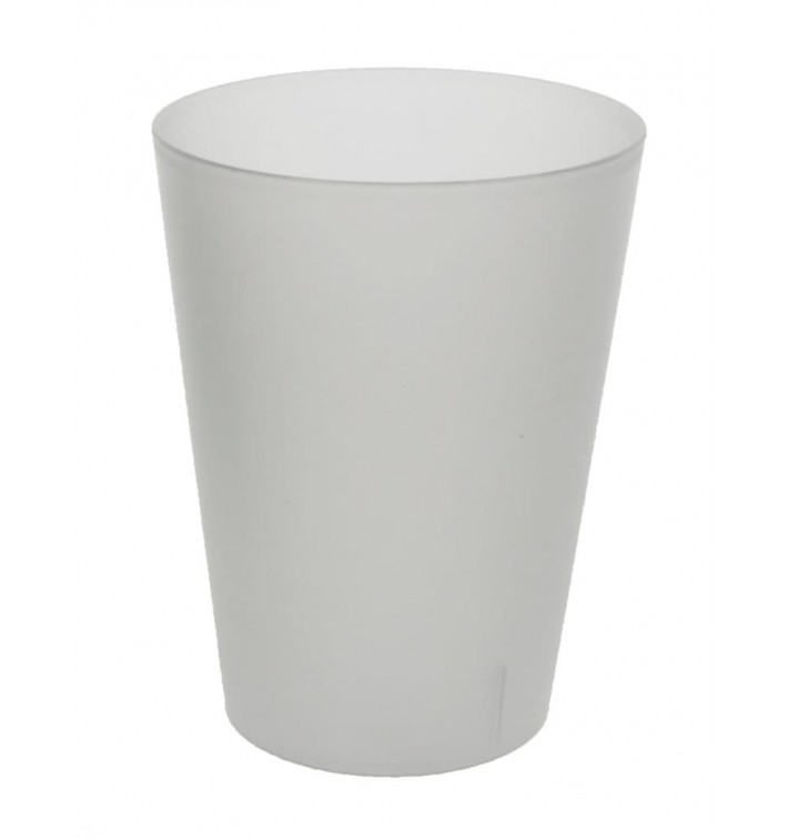 Verre en plastique 600ml PS cristal Transparent (400 Utés)