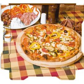 Boîtes à Pizza Al Bassanello Tavola 33x334,2 cm (100 Utés)