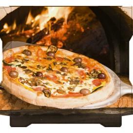 Boîtes à Pizza Al Bassanello Pala 33x33x4,2 cm (100 Utés)