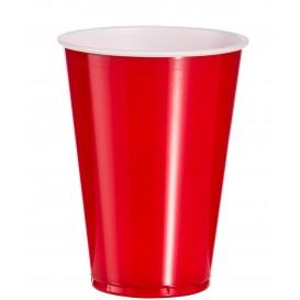 Gobelet Plastique Rouge en PS 10oz/300ml (1.000 Unités)