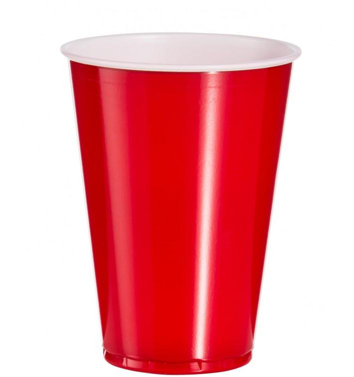Gobelet Plastique Rouge PS 10oz/300ml (2500 Utés)
