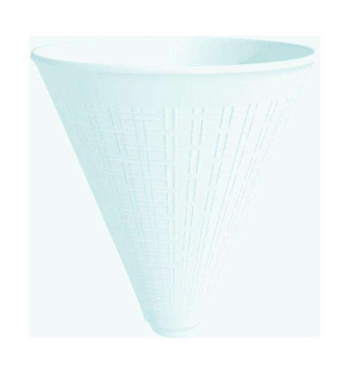 Cône Isotherme pour Frites Foam Blanc 355ml (25 Unités)