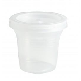 Gobelet Plastique PS Transp. 80ml Ø5,7cm (100 Utés)