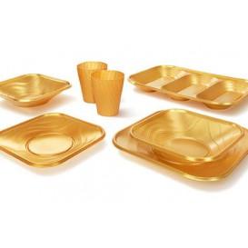 """Plateau Plastique PP """"X-Table"""" 3C Or 330x230mm (2 Unités)"""