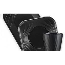 """Plateau Plastique PP """"X-Table"""" 3C Noir 330x230mm (30 Utés)"""