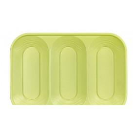 """Plateau PP """"X-Table"""" 3C citron vert 330x230mm (2 Utés)"""