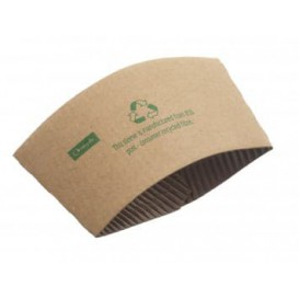 Bague pour Gobelet Carton Ondulé 12 et 16 Oz (100 Utés)