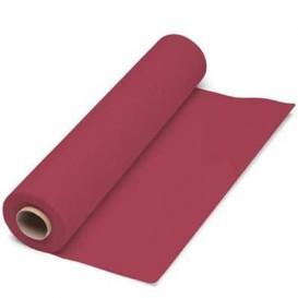 Nappe en papier en Rouleau Bordeaux 1x100m 40g (6 Unités)