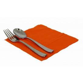 Serviette Papier Orange 33x33cm 1 épaisseur (70 Unités)