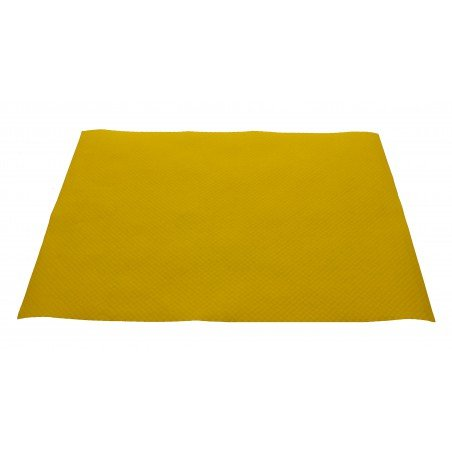 Set de Table papier 30x40cm Jaune 40g (1.000 Utés)