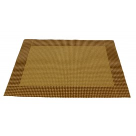 "Set de Table papier 30x40cm Kraft ""Patte d'Oie"" 50g (2500 Utés)"