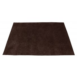Set de Table en PP Non-Tissé Marron 30x40cm 50g (500 Utés)