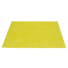Set de Table en PP Non-Tissé Jaune 30x40cm 50g (500 Utés)