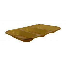 """Plateau Plastique PP """"X-Table"""" 3C Or 330x230mm (30 Unités)"""
