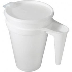 Pichet Isotherme Jetable FOAM 44oz/1300ml Ø11,7cm (300 Utés)