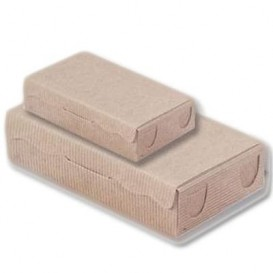 Boîte Chocolats et Bonbons Kraft 20x13x5,5cm 1000g (100 Utés)