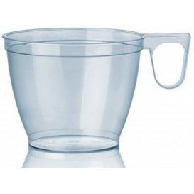 Tasse plastique Dur Transparent 180ml (50 Unités)