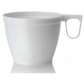 Tasse Plastique Dur Blanc 180ml (50 Unités)