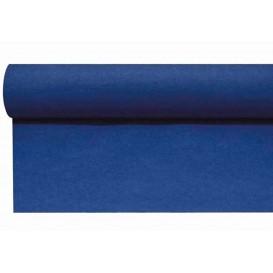 Chemin de Table Airlaid Bleu 0,4x48m Prédécoupé 1,2 m (1 Uté)