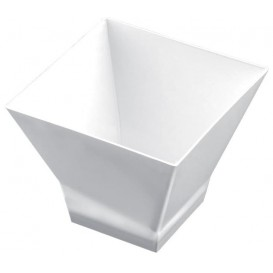 Verrine Dégustation Pagode Medium Blanc. 200 ml (12 Utés)
