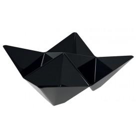 Verrine Dégustation Origami PS Noir103x103mm (25 Utés)