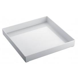 Plat Tray Blanc 30x30cm (1 Uté)