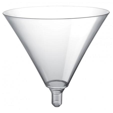 Flûte en Plastique Cocktail Sommelier Transp. 185ml (20 Unités)