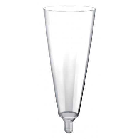 Flûte Champagne Plastique Sommelier Transp. 160ml (20 Unités)
