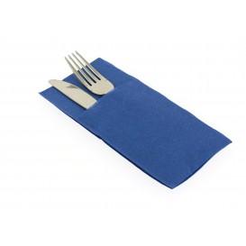 Serviette Kangourou en Papier Bleu 40X40 (960 Unités)
