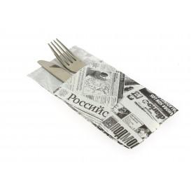 Serviette Kangourou en Papier Presse 40x40cm (30 Unités)