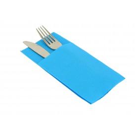 Serviette Kangourou en Papier Turquoise 40x40cm (30 Unités)