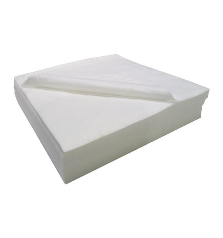Serviette Air Laid Salon de Coiffure Blanc 40x90cm 50g/m² (25 Utés)