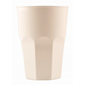 Verre Plastique à Cocktail Blanc PP Ø84mm 350ml (20 Utés)